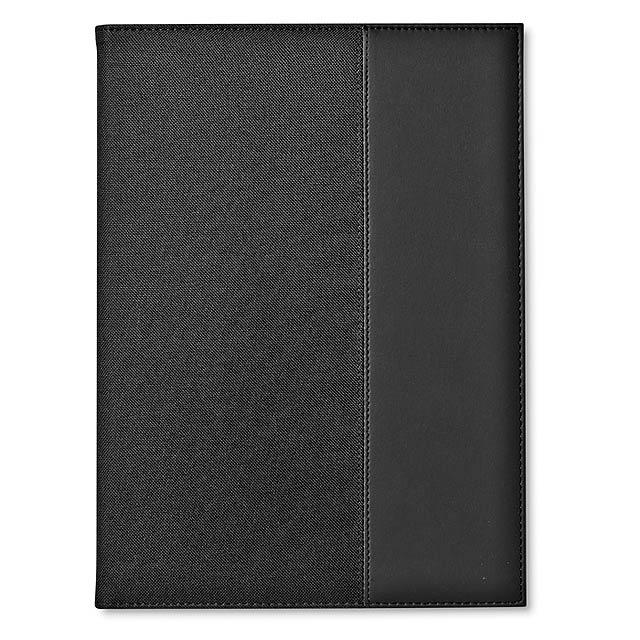 Konferenční desky - portfolio na dokumenty, A4 - černá
