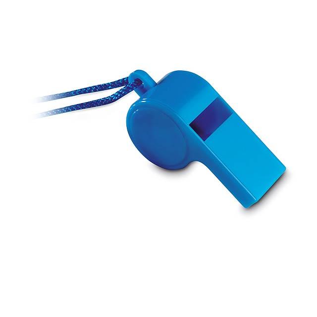 Píšťalka - modrá
