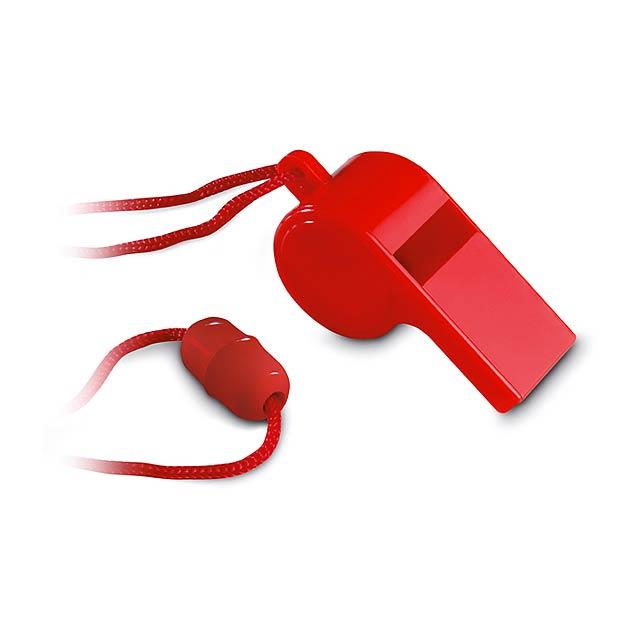 Píšťalka - červená