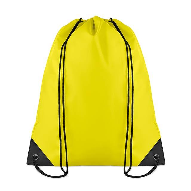 Batoh na záda - žlutá c27f7d4532