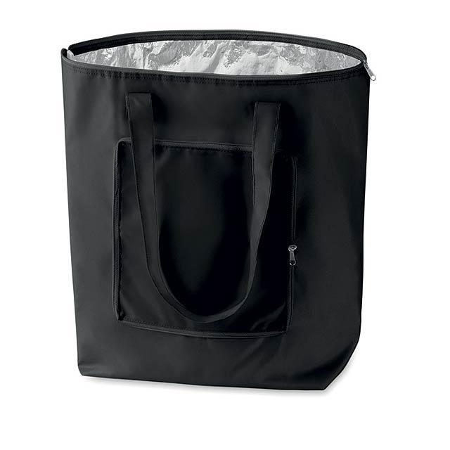 PLICOOL - Skládací chladící taška        - černá