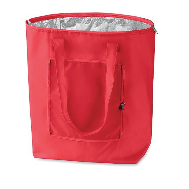 PLICOOL - Skládací chladící taška        - červená