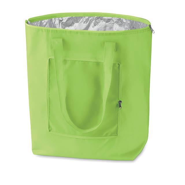 Skládací chladící taška - citrónová - limetková