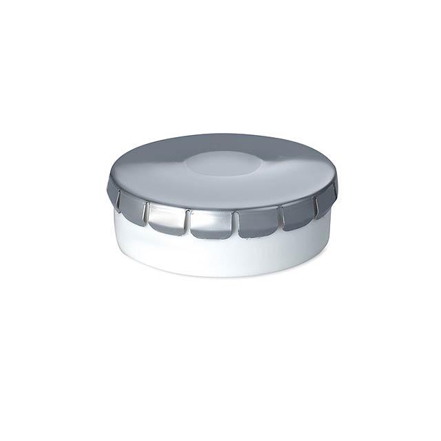 Sugar free mint box 10 gr - matt silver
