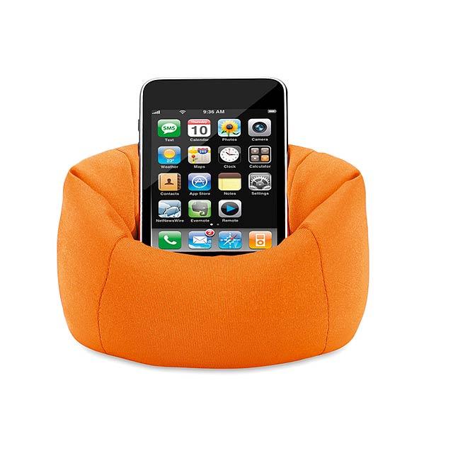 Držák mobilu - oranžová