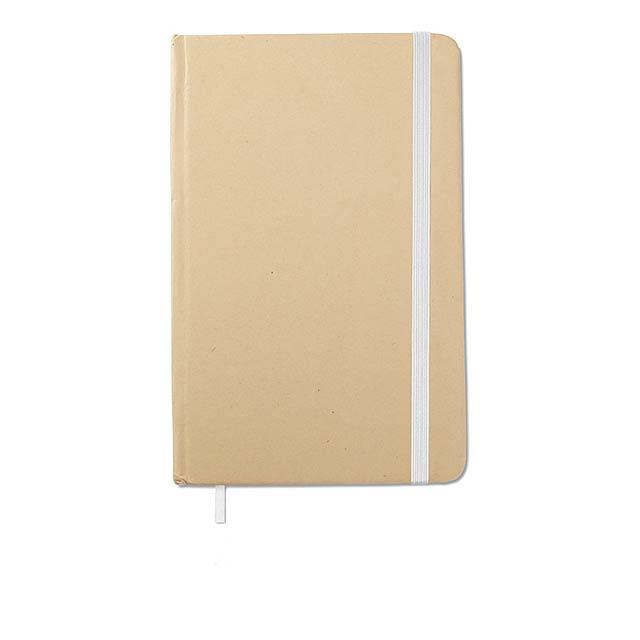EVERNOTE - Recyklovaný zápisnik           - bílá
