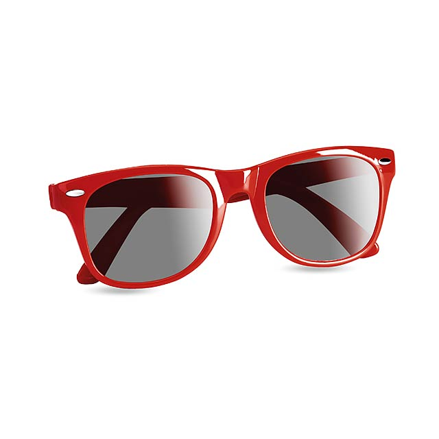 Sunglasses with UV protection - red