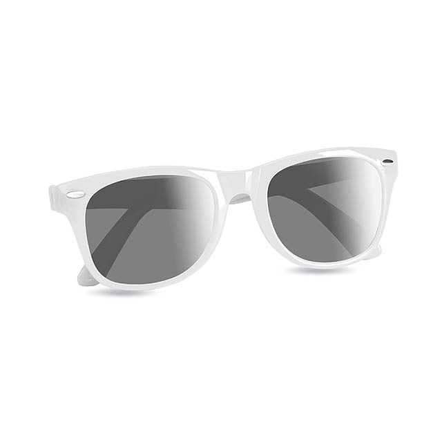 Sunglasses with UV protection - white