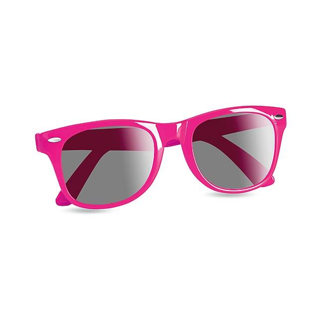 Sunglasses with UV protection - fuchsia