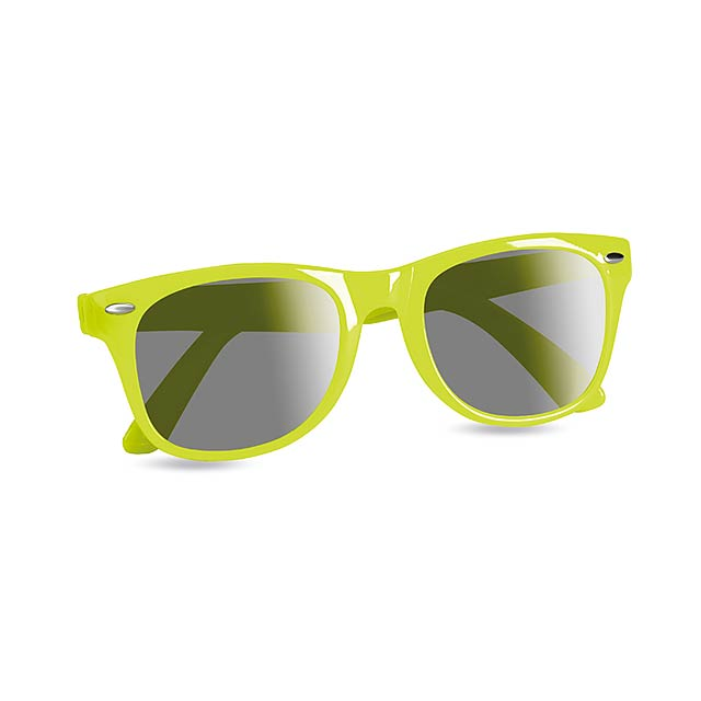 Sunglasses with UV protection - lime