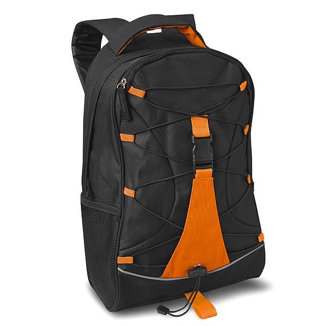 Ruksak - batoh - oranžová