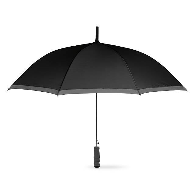 Deštník s EVA rukojetí - černá