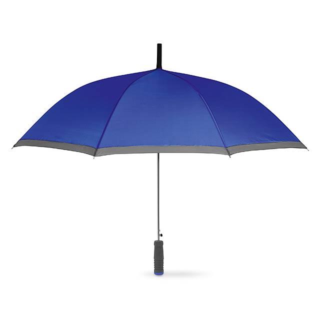 Deštník s EVA rukojetí - modrá