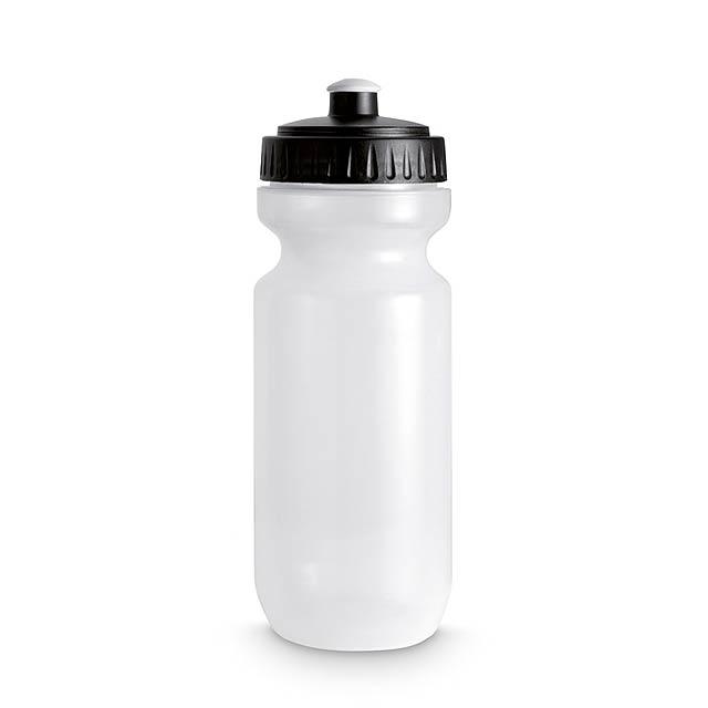 Plastová láhev na pití  - černá