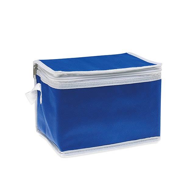 Non-Woven-Tasche 6 können Kühler - blau