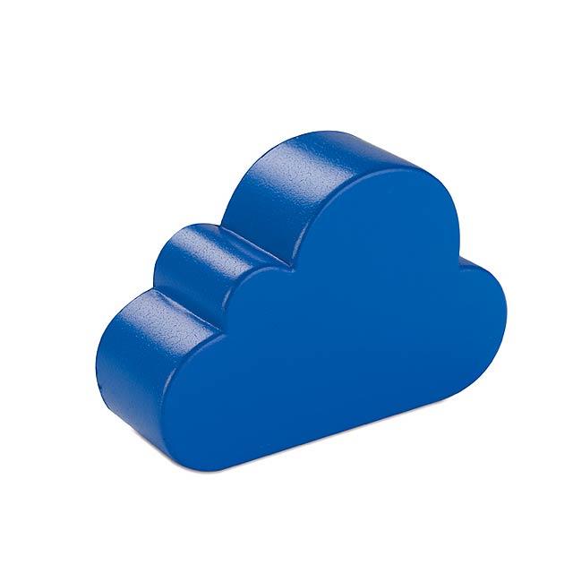 Anti-stres ve tvaru mraků  - modrá