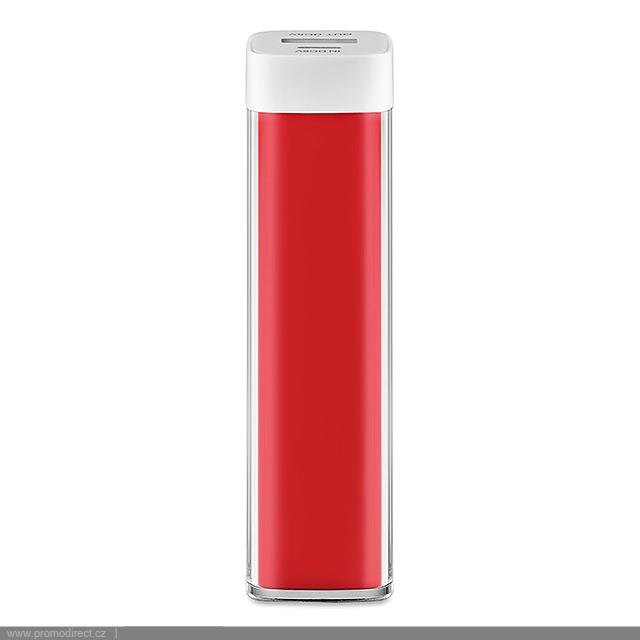 PowerBank nabíječka - POWERSTOCK - červená