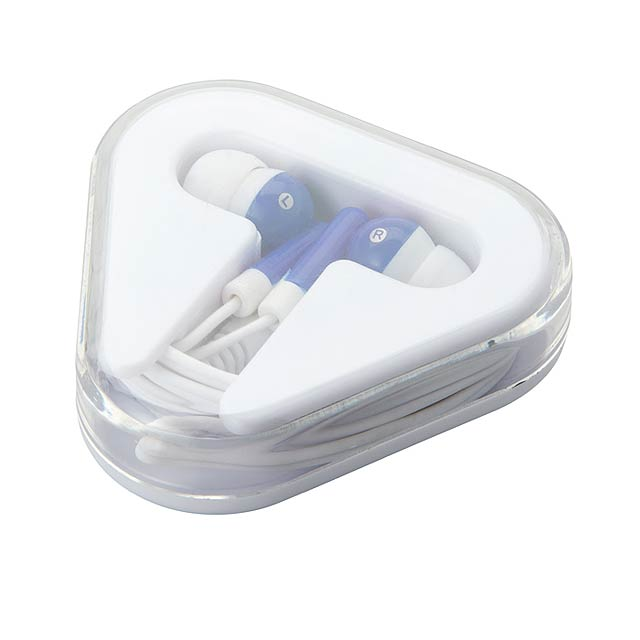 Earphones in PS case MO8149-04 - blue