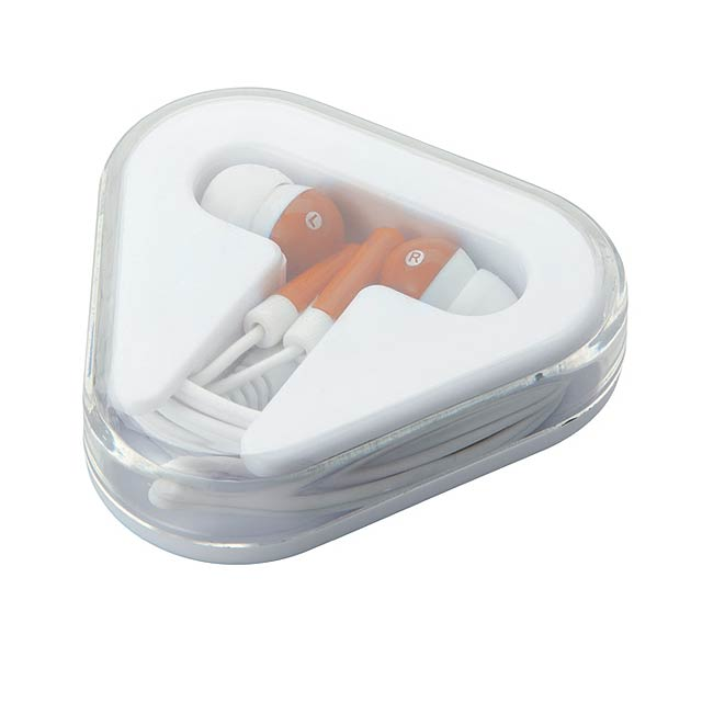 Earphones in PS case           MO8149-10 - orange