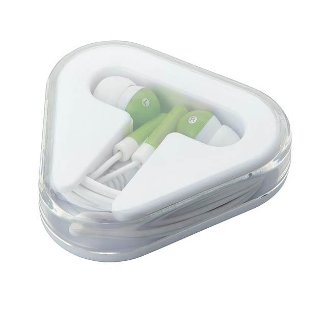 Earphones in PS case           MO8149-48 - lime