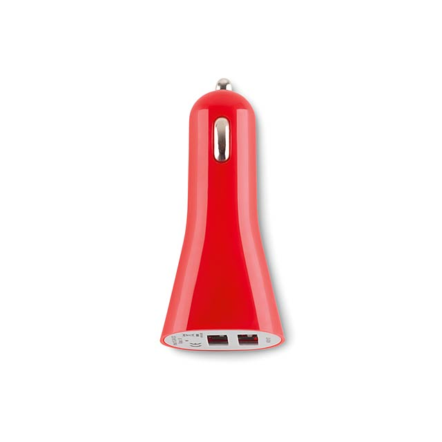 USB nabíječky - LANCE - červená