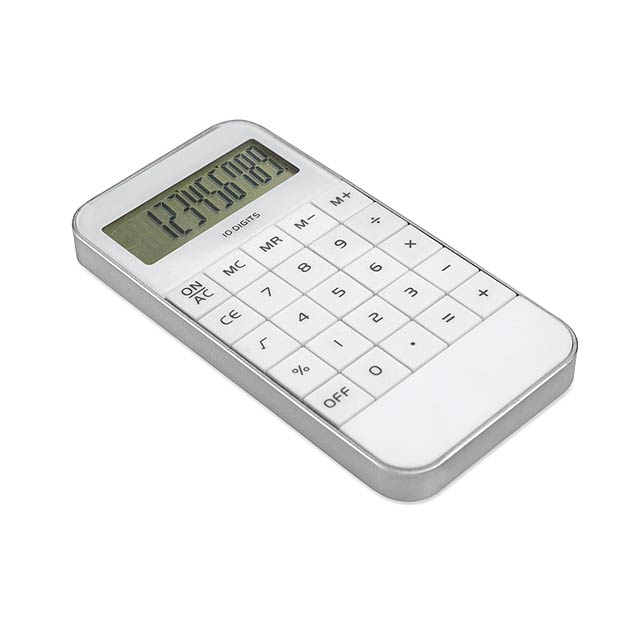 10 digit display Calculator MO8192-06 - white