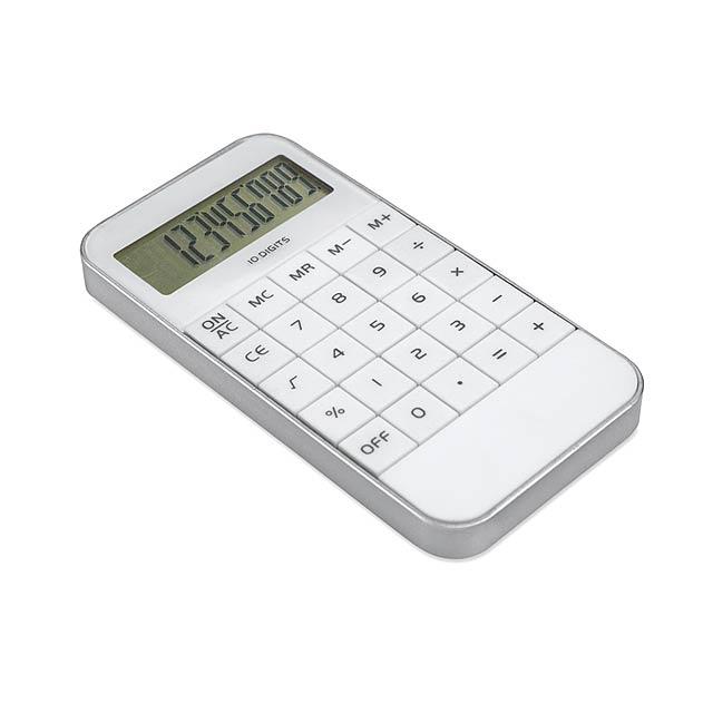 kalkulačka - biela