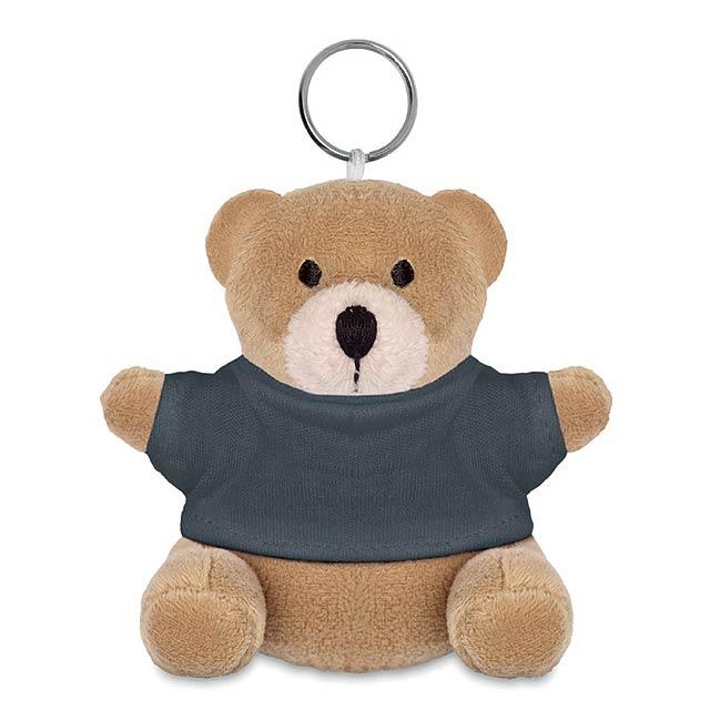 NIL - Medvěd s kroužkem na klíče     - šedá