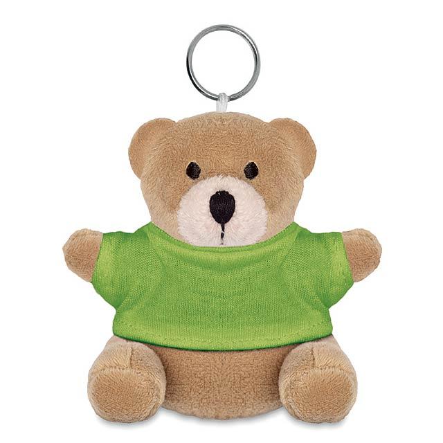 NIL - Medvěd s kroužkem na klíče     - citrónová - limetková