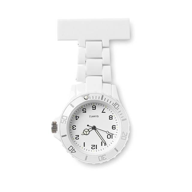 analogické hodinky - biela