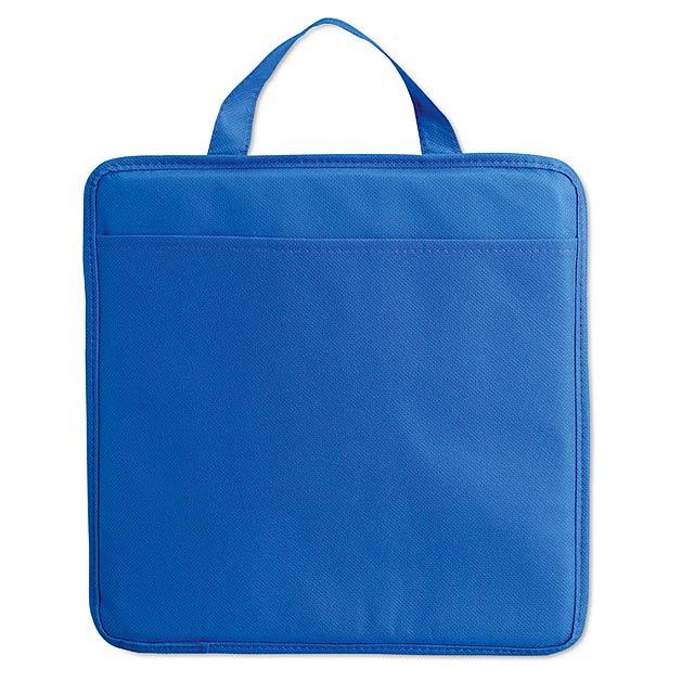Non woven stadium cushion MO8272-04 - blue