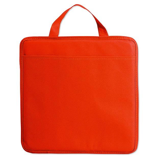Non woven stadium cushion MO8272-05 - red