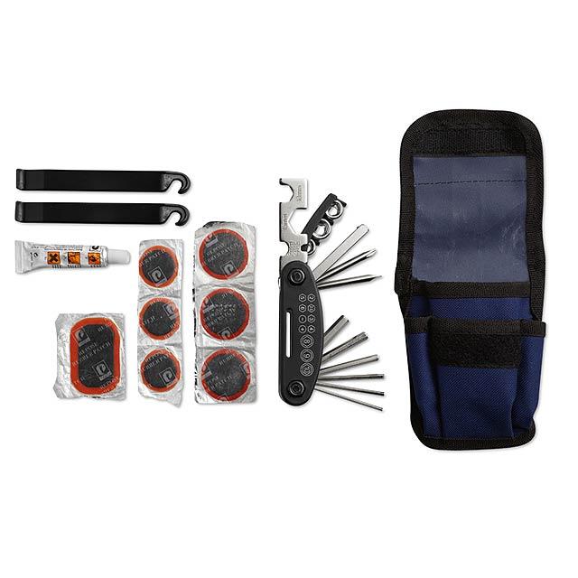Bike repair kit MO8281-04 - blue