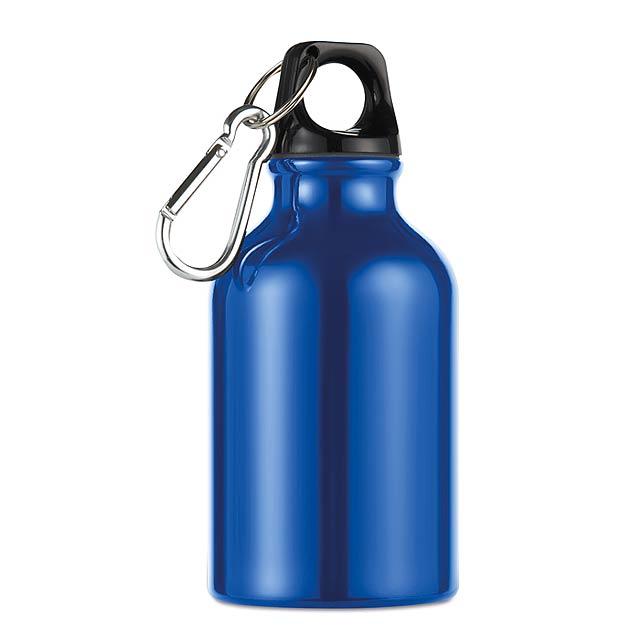 Hliníková láhev - Moss - modrá