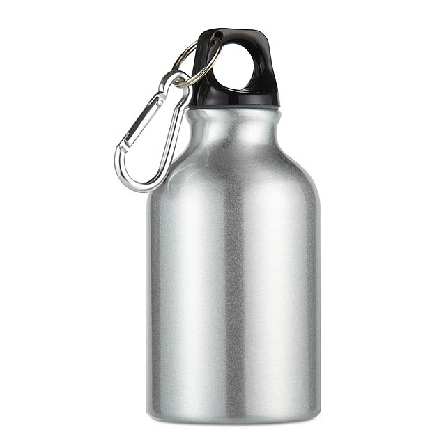 Hliníková láhev  - stříbrná mat