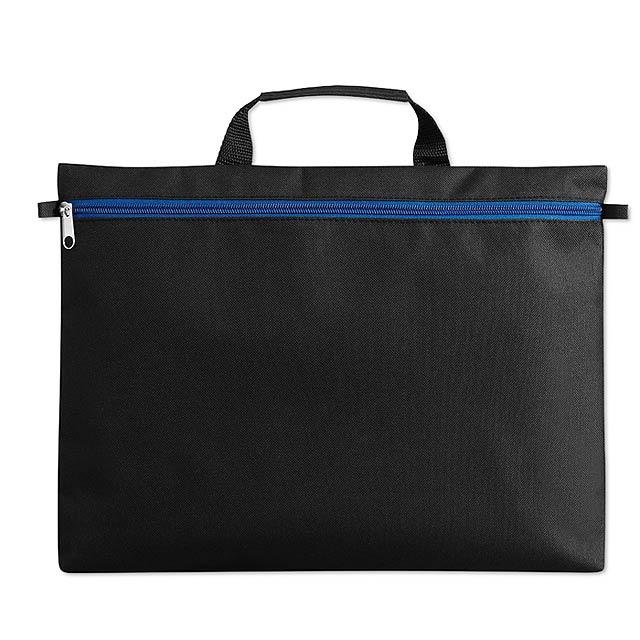 Taška na dokumenty  - modrá