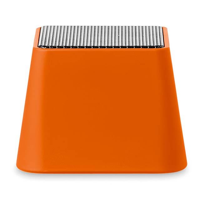 Mini bluetooth reproduktor - BOOBOOM - oranžová