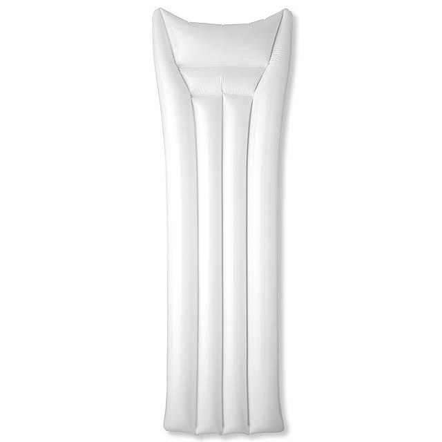 PVC plážová matrace  - bílá