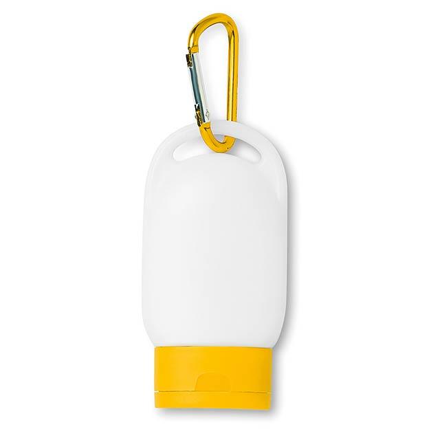 30 ml opalovací mléko SPF30   - žlutá