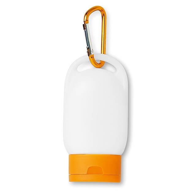 Krém na opalování SPF30  - oranžová