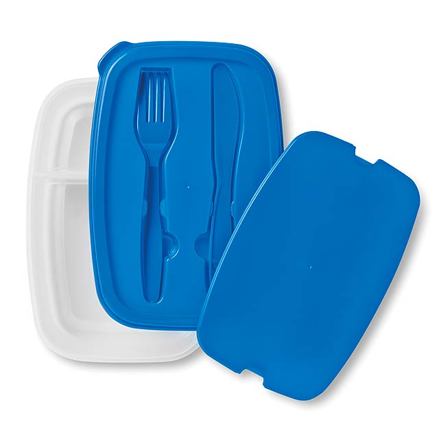 Obědový box  - modrá