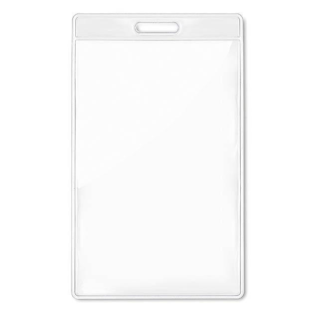 Transparent Abzeichen 7,5cmx12,5cm - Transparente