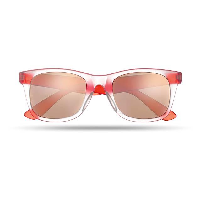 Sluneční brýle - AMERICA TOUCH - červená