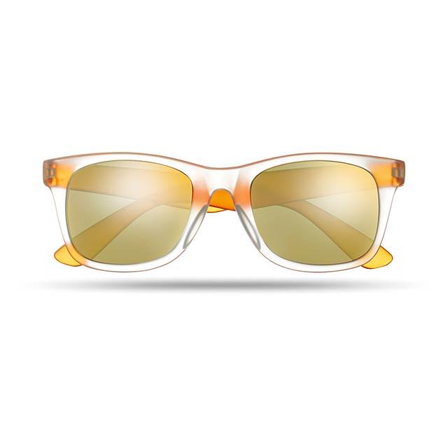 Sluneční brýle - AMERICA TOUCH - oranžová
