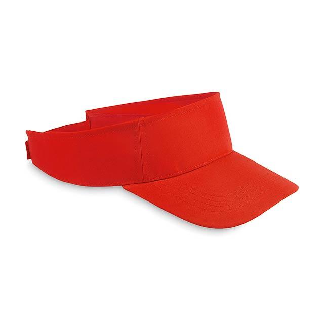 Kšilt - SHADOW - červená 5b6bbbfb09