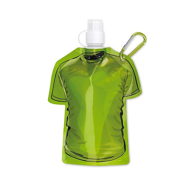 Skládací láhev tričko - SAMY - zelená