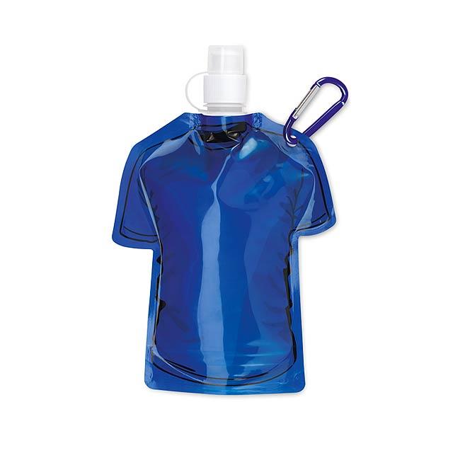 Skládací láhev tričko - SAMY - královsky modrá