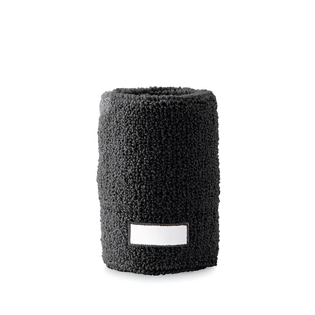 Sweat wristband  - black
