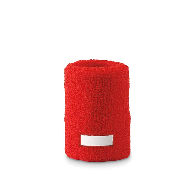 Sweat wristband  - red