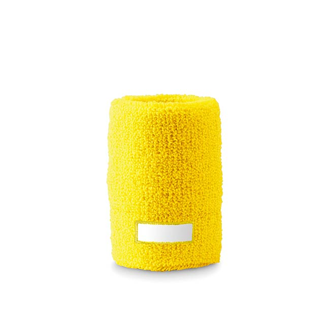 Sweat wristband  - yellow